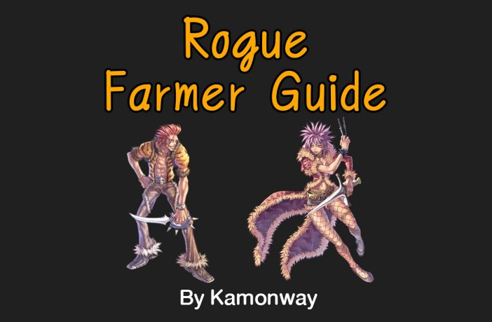 Rogue Farmer Guide, Stat Skill Equipment | Ragnarok Guide